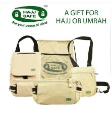 Hajj Safe company - Anti-Theft Belts & Bags, Umrah Travel Waist & Neck Bags NEW
